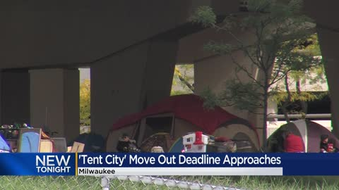 Milwaukee's 'Tent City' will be clear by deadline, local group says