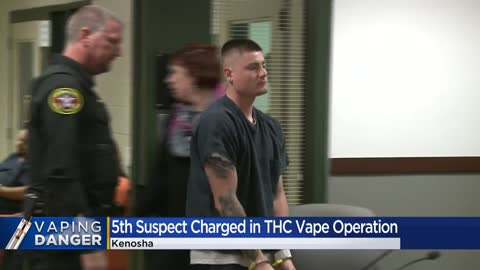 Authorities make 5th arrest in Kenosha County THC vaping business