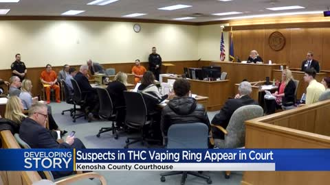 7 charged in Kenosha County THC vape cartridge operation appear...