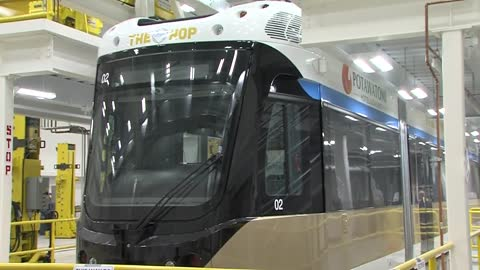 Drivers getting ready as construction starts to wrap up on Milwaukee's streetcar 'The Hop'