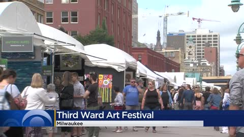 Over 140 artists wrap up another year at the Third Ward Art Festival