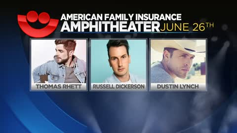 Thomas Rhett to headline opening night of Summerfest on June...