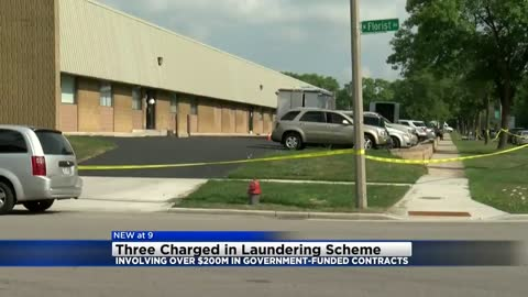 Three local men charged in laundering scheme involving over $200M in government-funded contracts