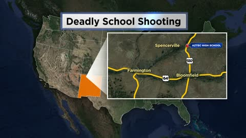UPDATE: Two students and shooter dead after school shooting in New Mexico
