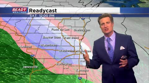 Accumulating snow likely for Saturday