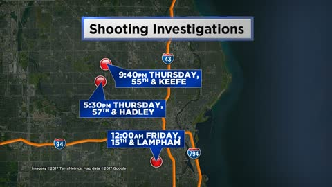 MPD investigating two separate Thursday night shootings