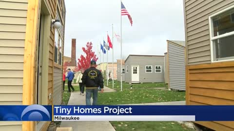 Tiny homes to help veterans in need 1 step closer to reality on Milwaukee's northwest side