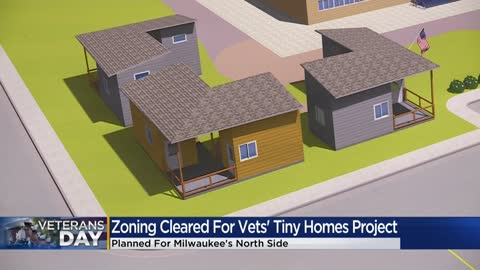 Mayor Barrett approves development of tiny homes for veterans in Milwaukee