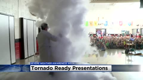 Tornado Ready gives 25th talk reaching over 5,000 students