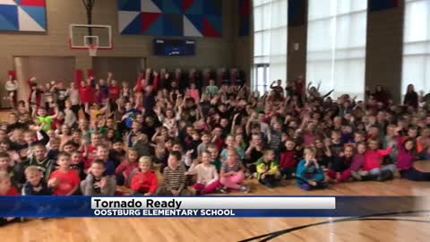 Tornado Ready at Oostburg Elementary in Oostburg