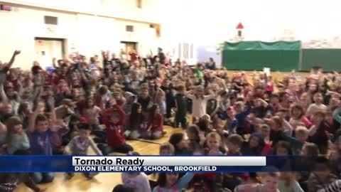Tornado Ready at Dixon Elementary School in Brookfield