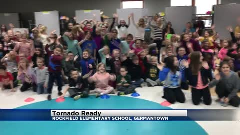Tornado Ready at Rockfield Elementary School in Germantown