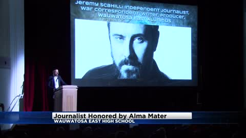 Wauwatosa High School honors award-winning alum Jeremy Scahill
