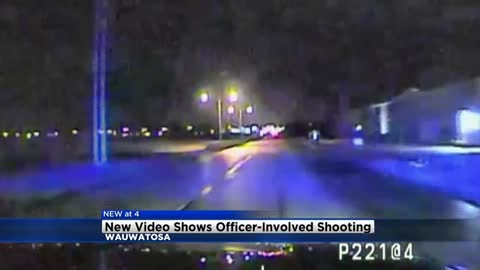 """Shots fired:"" Wauwatosa Police release dash cam video of officer-involved shooting, suspect sentenced"