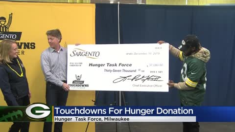 Packers' touchdowns score $37K in donations from Sargento benefiting...
