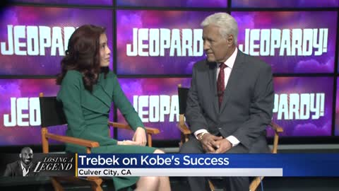 'Jeopardy!' host Alex Trebek reacts to death of Kobe Bryant...