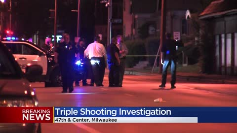 Triple shooting near 47th and Center in Milwaukee