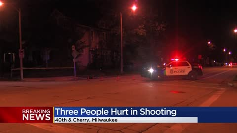Triple shooting investigation near 38th and Cherry in Milwaukee