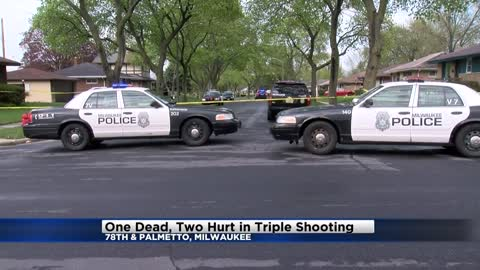 One dead in triple shooting on Milwaukee's northwest side