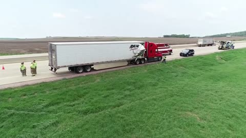 UPDATE: Driver of semi involved in accident that injured 20 students arrested for OWI