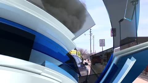 Fire damages van in Wauwatosa