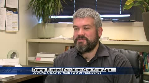 Trump elected president one year ago today; local professor weighs in