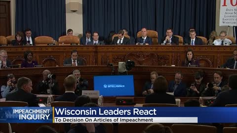 How an impeachment vote could impact Wisconsin's presidential...