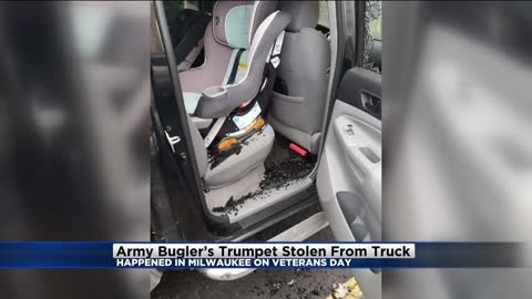 Army Reservist has trumpet stolen from car on Veterans Day