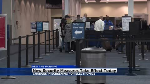 TSA implements new security measures for International flights