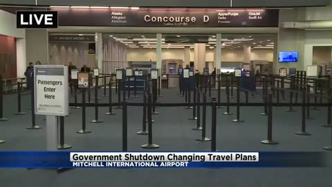 TSA not seeing impact of government shutdown at General Mitchell...