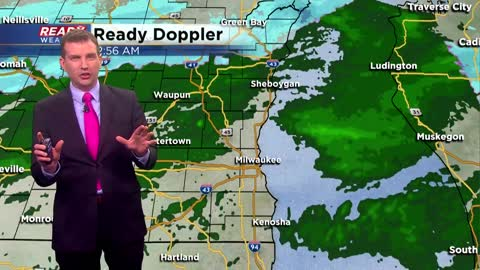 Cold front will bring rain showers, snow showers today
