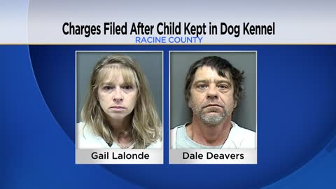 "UPDATE: Two charged after keeping 9-year-old girl in cage ""to keep her safe"""