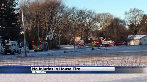 Home a total loss in Kenosha fire