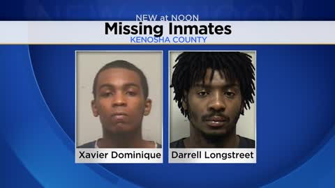 Kenosha County searching for two escaped inmates