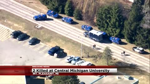 UPDATE: Two dead after shooting at Central Michigan University, shooter at large