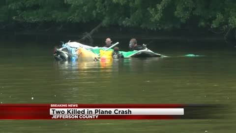 Two die after plane crashes into Rock River