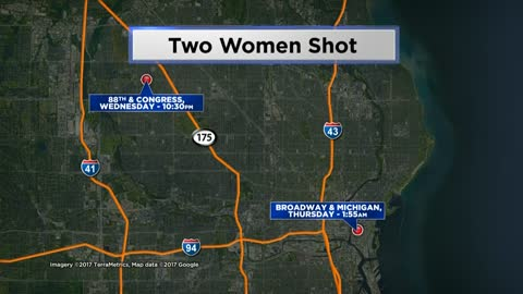 Woman taken to hospital after early morning shooting in downtown Milwaukee