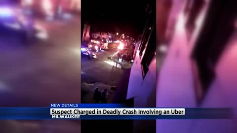 16-year-old charged in Milwaukee fatal Uber crash