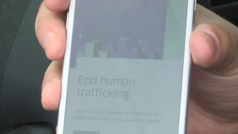 Uber drivers being trained to spot human trafficking