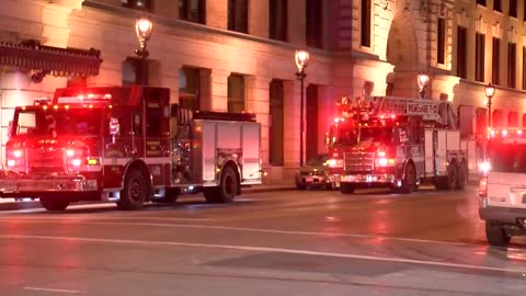 UPDATE: Multiple buildings evacuated after gas leak on roof of downtown Courtyard Marriott