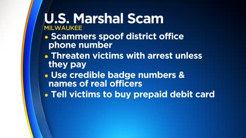 Milwaukee area telephone scammers pose as U.S. Marshals