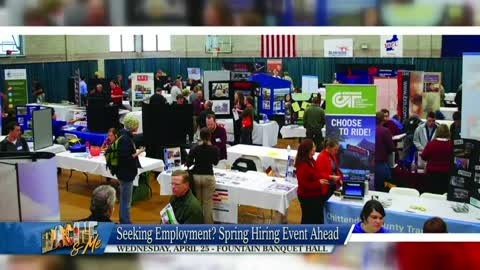April 15, 2018 Racine & Me: Racine Co. Business Solutions Spring Hiring Event, Rapper Skyzoo, and Club Aqua Paws