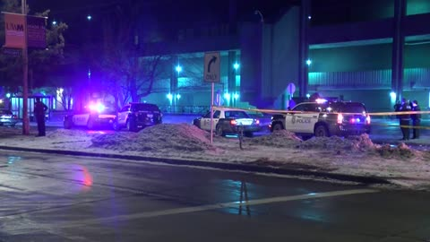 UWM Police and MPD looking for robbery suspects who crashed car and ran into student union