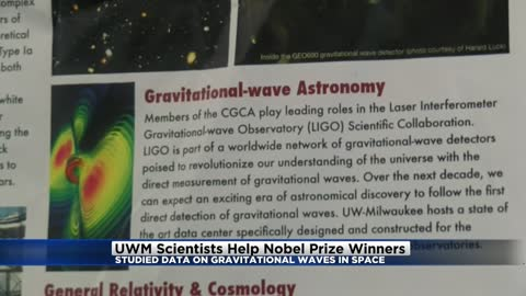UWM Scientists help Nobel Prize winners through gravitational waves in space research