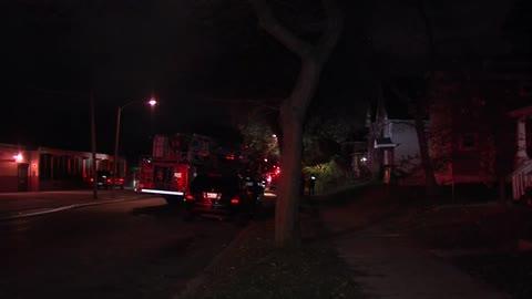 Milwaukee vacant house catches fire twice, no one hurt
