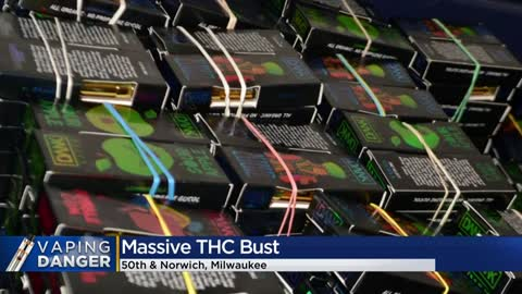 Couple faces charges after more than 13,000 THC vape cartridges, $900,000 found in Milwaukee home