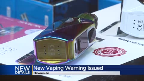 Milwaukee health officials urge people to stop vaping