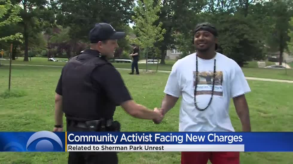 Community activist facing new charges related to Sherman Park unrest