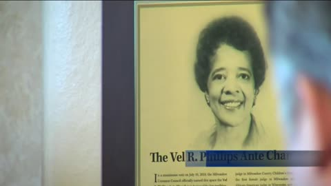 Dedication ceremony held to mark naming of Vel R. Phillips Ante Chamber