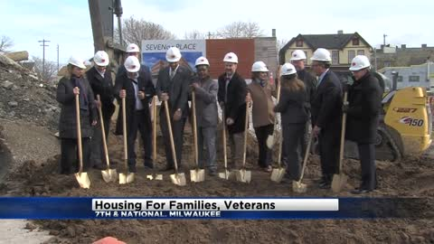 Construction begins on apartment building for families, veterans in Walker's Point